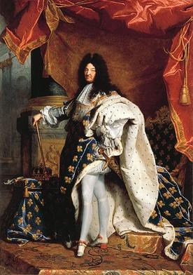 Ludwik XIV (mal. Hyacinthe Rigaud)